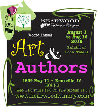 Art & Authors  exhibit of local talent